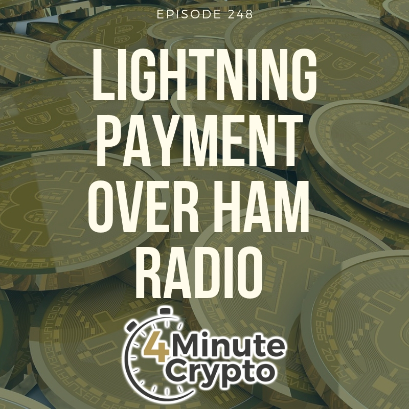 Bitcoin Coders Send Lightning Payment Over Ham Radio