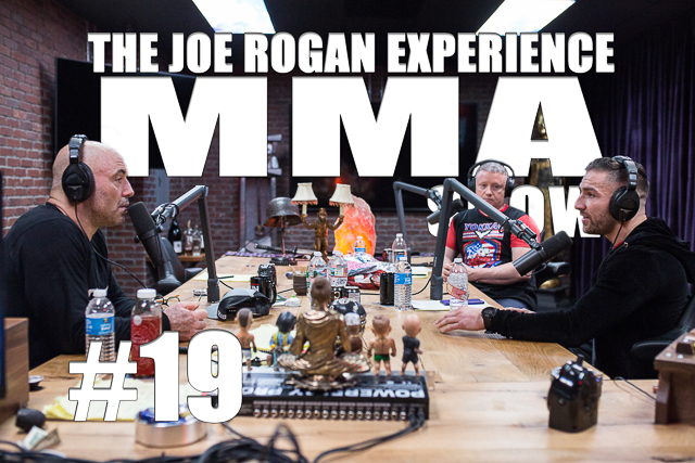 The Joe Rogan Experience JRE MMA Show #19 with Vinny Shoreman & Liam Harrison
