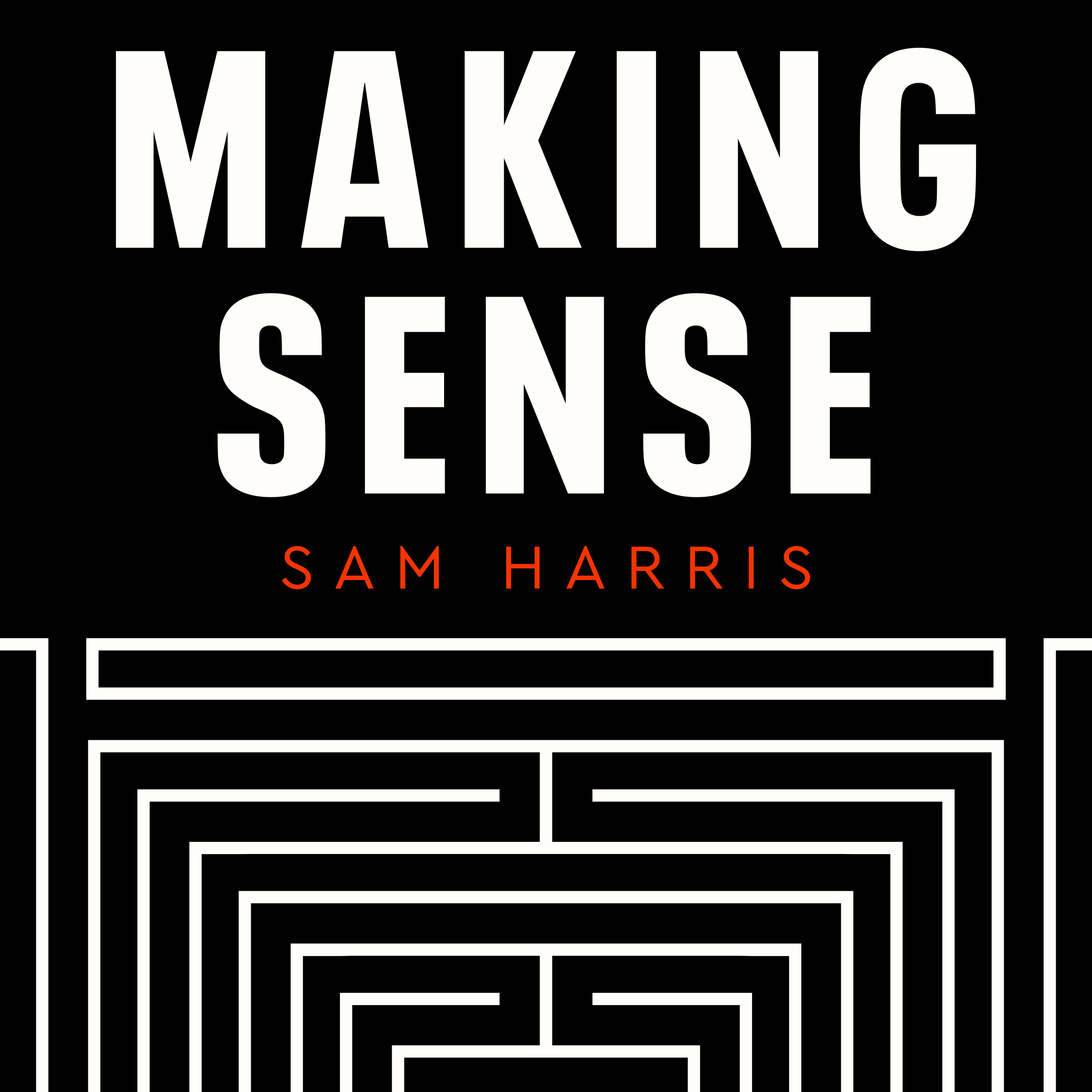 podcast thumbnail for 'Making Sense with Sam Harris'