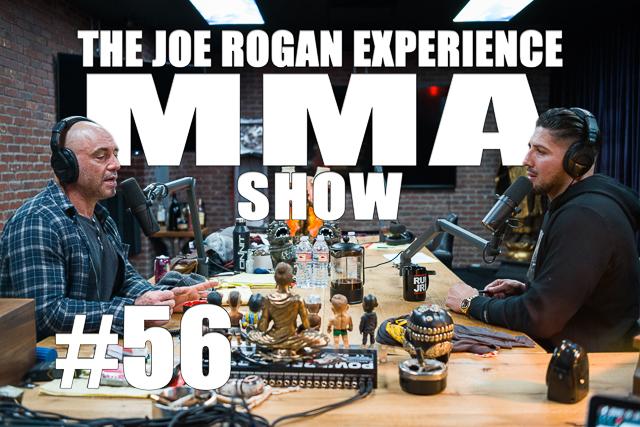 The Joe Rogan Experience JRE MMA Show #56 with Brendan Schaub