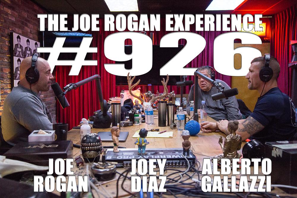 The Joe Rogan Experience #926 - Joey Diaz & Alberto Gallazzi
