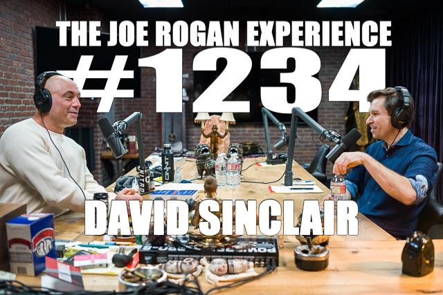 The Joe Rogan Experience #1234 - David Sinclair
