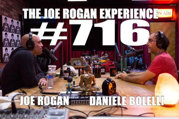 The Joe Rogan Experience #716 - Daniele Bolelli