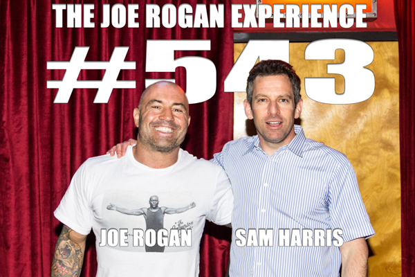 The Joe Rogan Experience #543 - Sam Harris