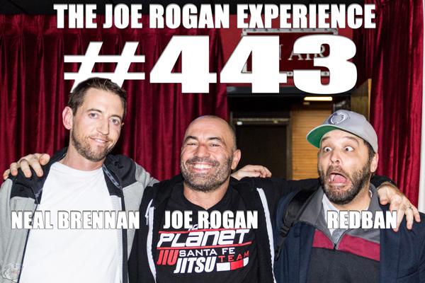 The Joe Rogan Experience #443 - Neal Brennan