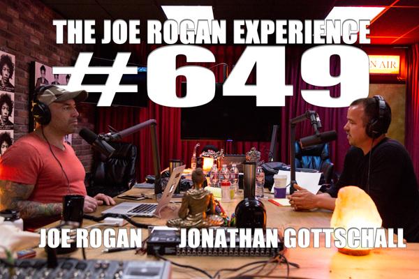 The Joe Rogan Experience #649 - Jonathan Gottschall