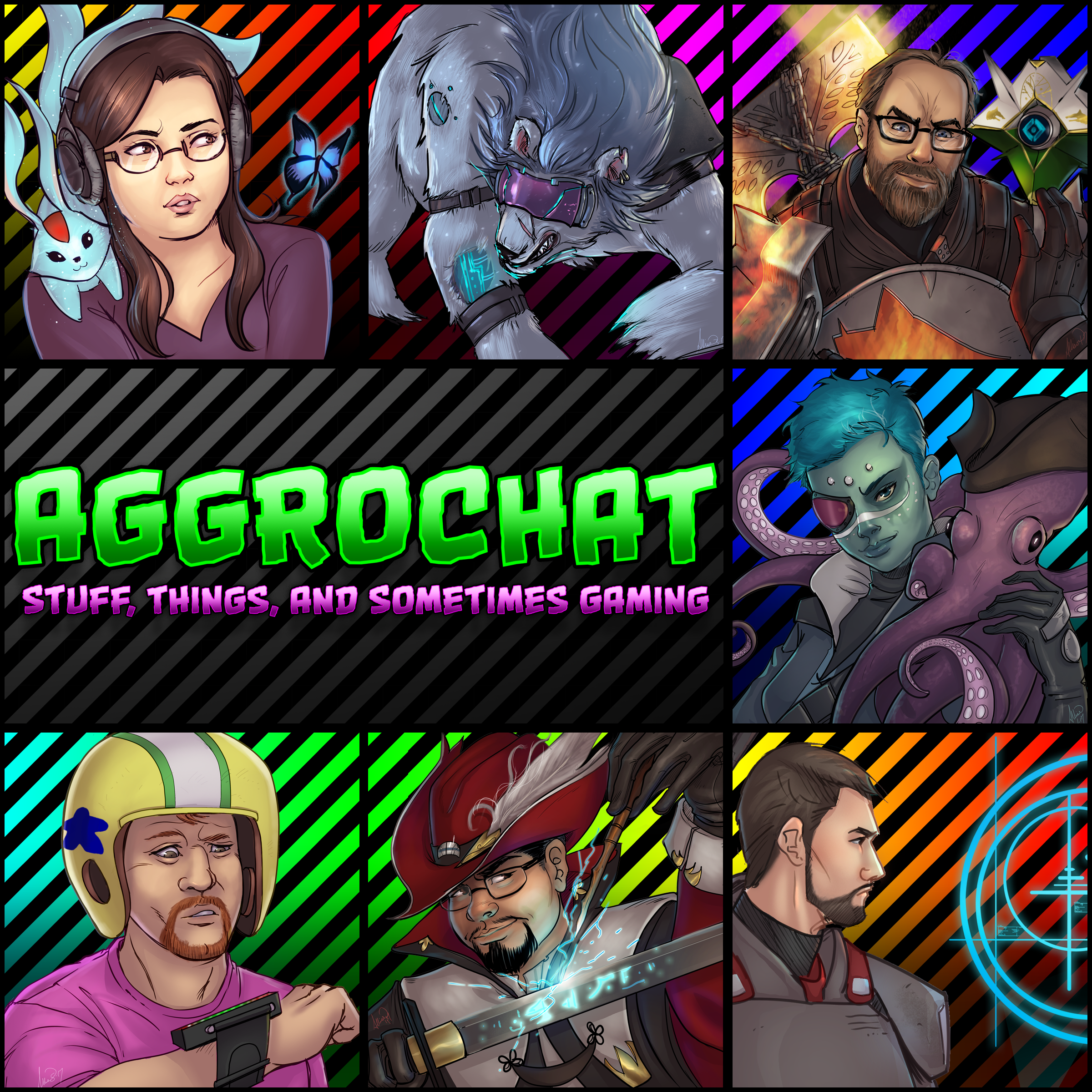 AggroChat #163 - The Subnautica Show AggroChat: Tales Of The
