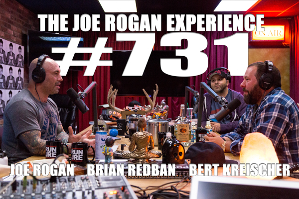 The Joe Rogan Experience #731 - Bert Kreischer