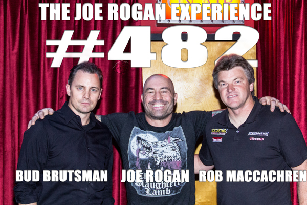 The Joe Rogan Experience #482 - Rob MacCachren & Bud Brutsman