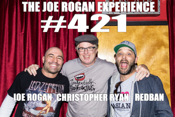 The Joe Rogan Experience #421 - Christopher Ryan