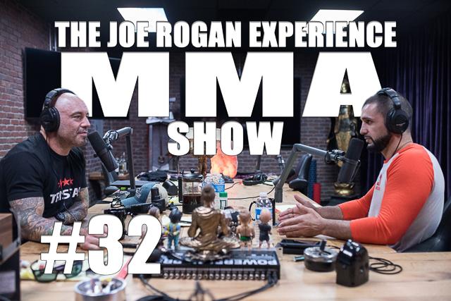 The Joe Rogan Experience JRE MMA Show #32 with Firas Zahabi