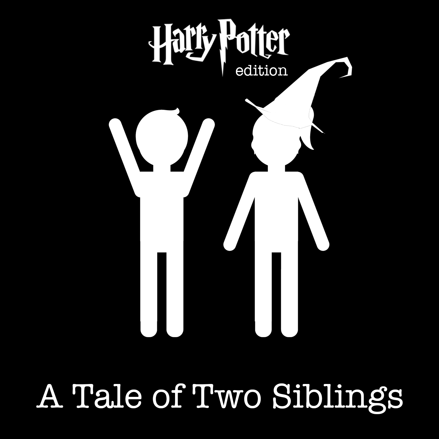 A Tale of Two Siblings: Harry Potter Edition | Listen via
