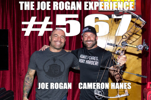 The Joe Rogan Experience #567 - Cameron Hanes