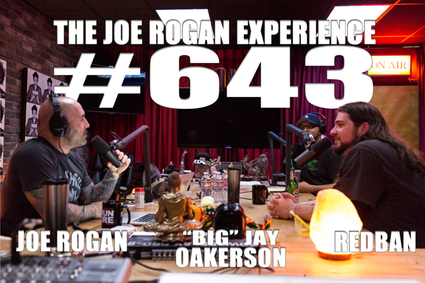 "The Joe Rogan Experience #643 - ""Big"" Jay Oakerson"