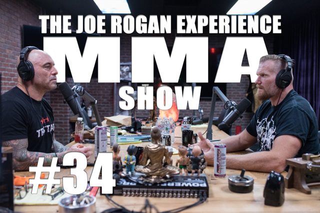 The Joe Rogan Experience JRE MMA Show #34 with Josh Barnett