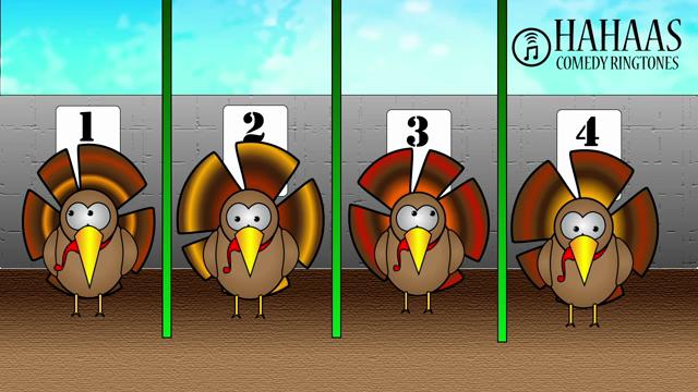 Turkey Race Thanksgiving Ringtone Remix 2018