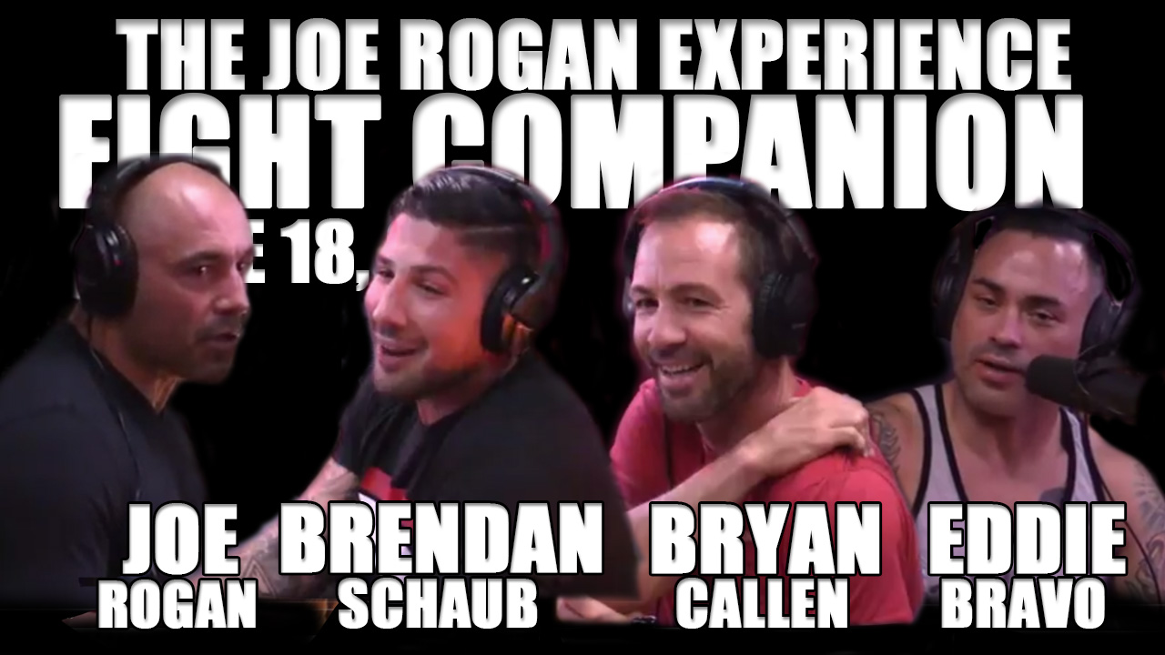 The Joe Rogan Experience Fight Companion - June 18, 2016