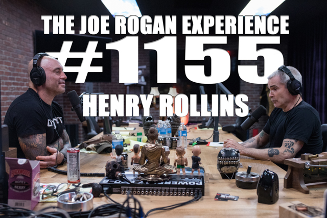 The Joe Rogan Experience #1155 - Henry Rollins