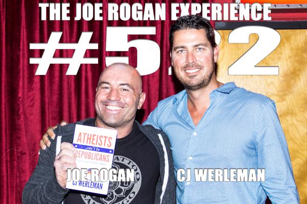 The Joe Rogan Experience #522 - CJ Werleman