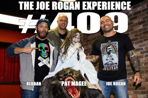 The Joe Rogan Experience #409 - Patrick Magee