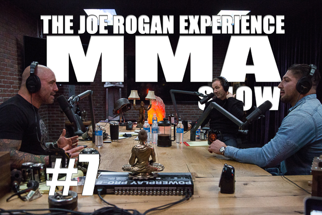 The Joe Rogan Experience JRE MMA Show #7 with Brendan Schaub & Bryan Callen