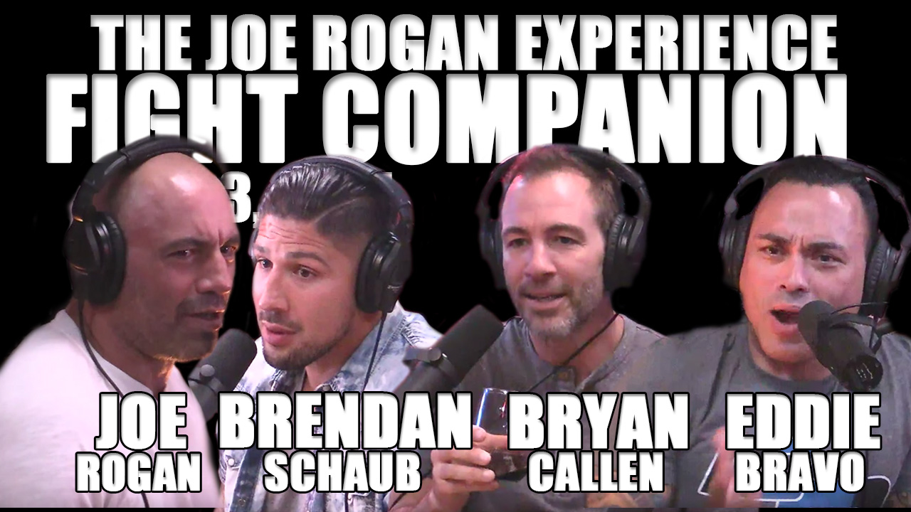 The Joe Rogan Experience Fight Companion - June 3, 2017