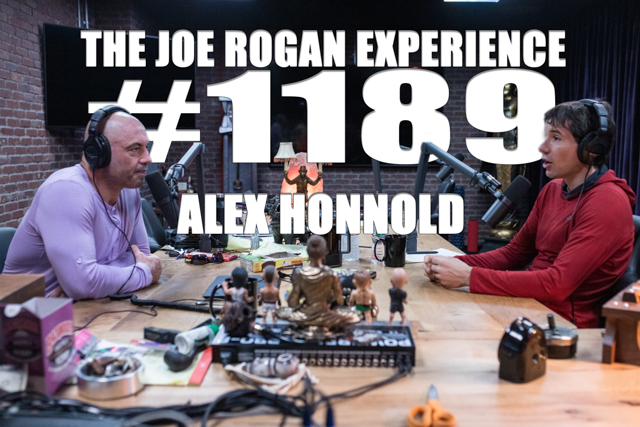 The Joe Rogan Experience #1189 - Alex Honnold