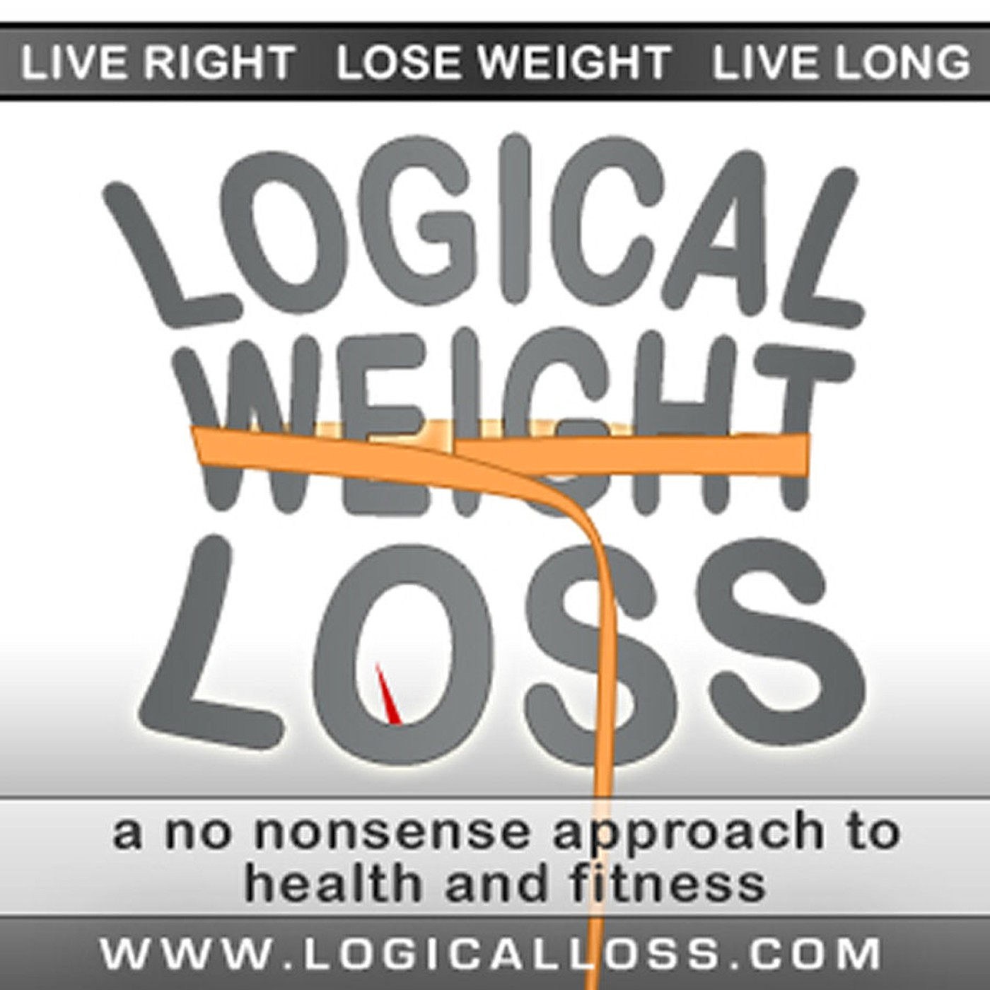 Logical Weight Loss Podcast Album Art