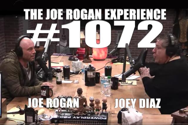 The Joe Rogan Experience #1072 - Joey Diaz