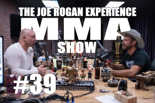 "The Joe Rogan Experience JRE MMA Show #39 with Donald ""Cowboy"" Cerrone"