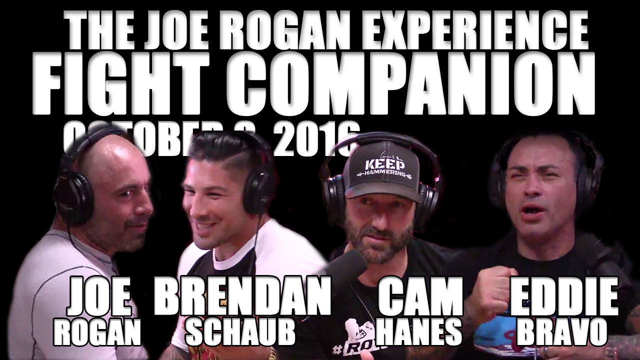 The Joe Rogan Experience Fight Companion - October 8, 2016