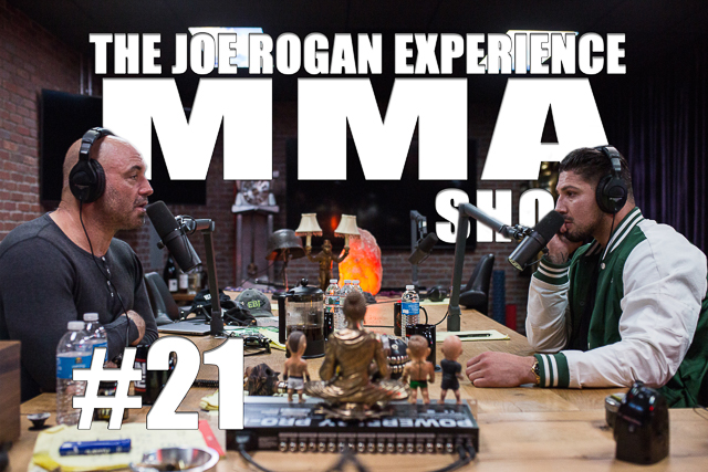 The Joe Rogan Experience JRE MMA Show #21 with Brendan Schaub
