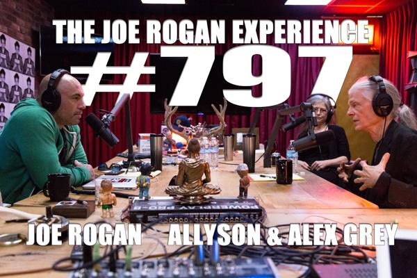 The Joe Rogan Experience #797 - Alex & Allyson Grey