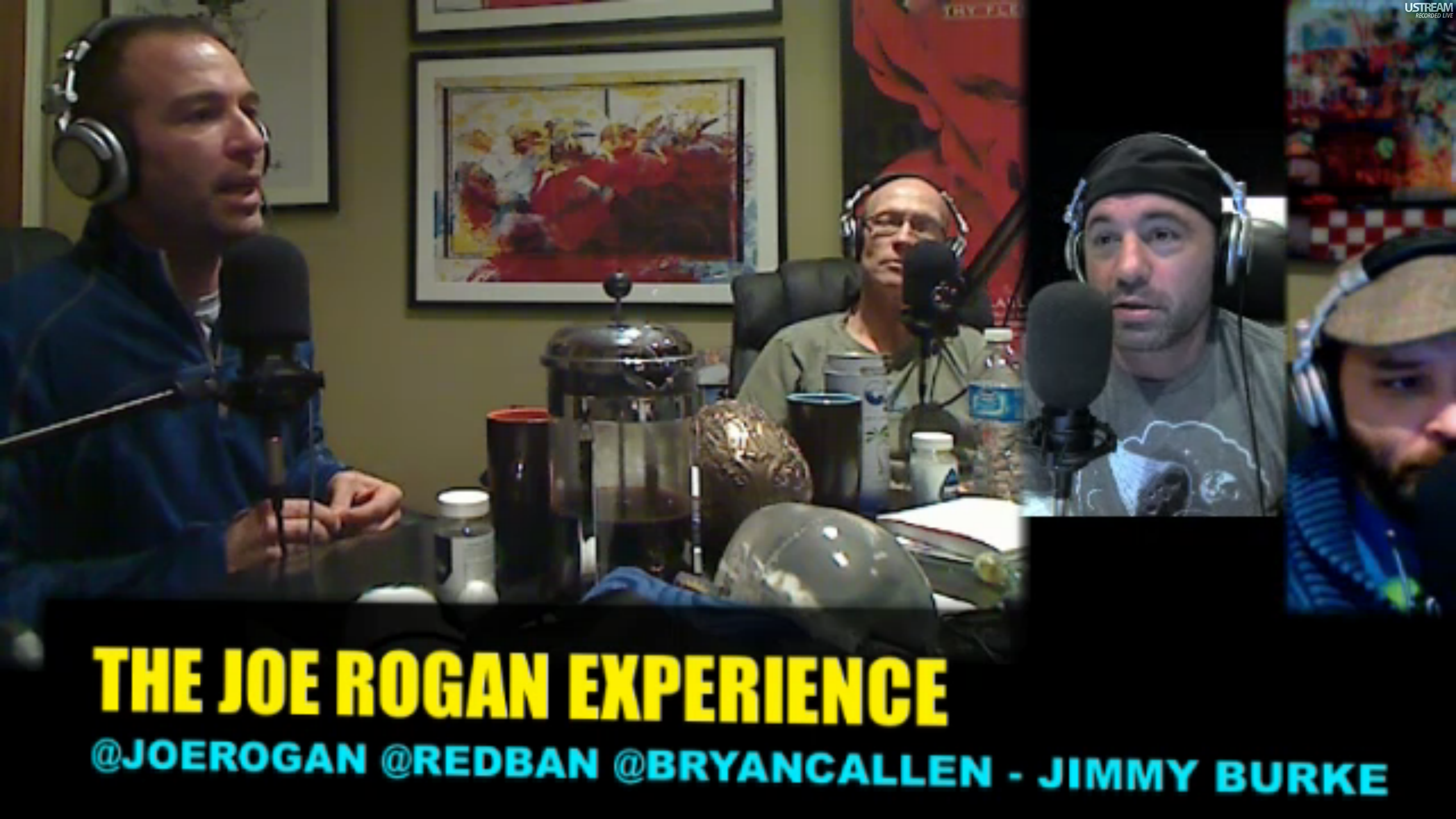 The Joe Rogan Experience PODCAST #182 - Bryan Callen, Jimmy Burke, Brian Redban