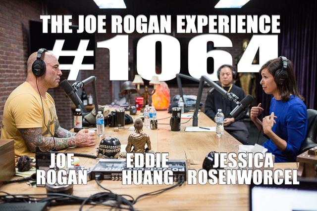 The Joe Rogan Experience #1064 - Eddie Huang & Jessica Rosenworcel