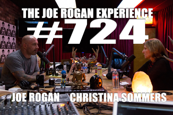 The Joe Rogan Experience #724 - Christina Sommers