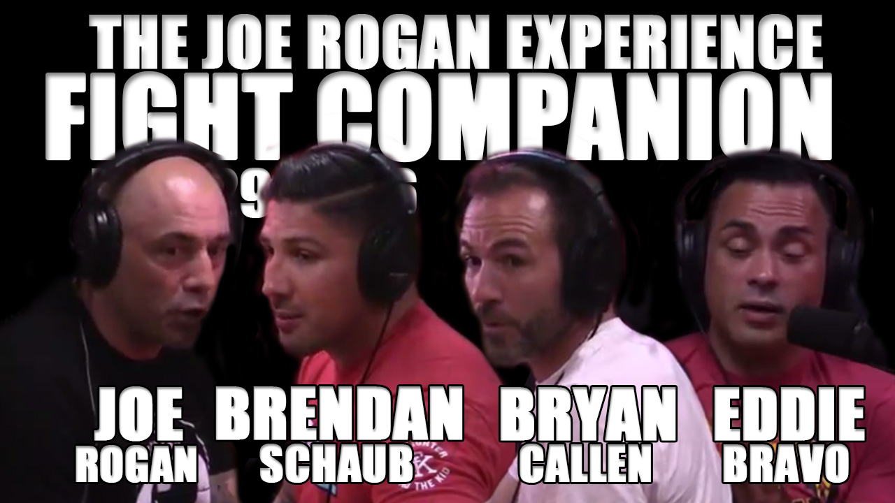 The Joe Rogan Experience Fight Companion - May 29, 2016