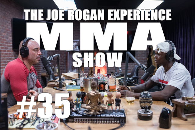 The Joe Rogan Experience JRE MMA Show #35 with Israel Adesanya