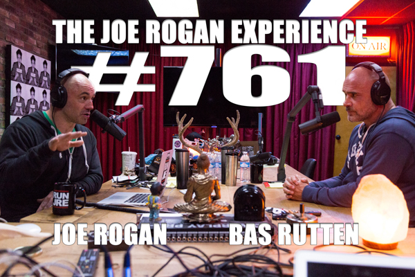 The Joe Rogan Experience #761 - Bas Rutten