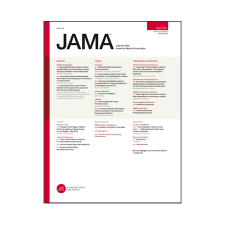 jama articles on obesity