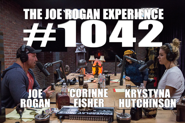 The Joe Rogan Experience #1042 - Krystyna Hutchinson & Corinne Fisher
