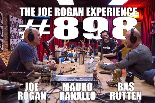 The Joe Rogan Experience #898 - Bas Rutten & Mauro Ranallo