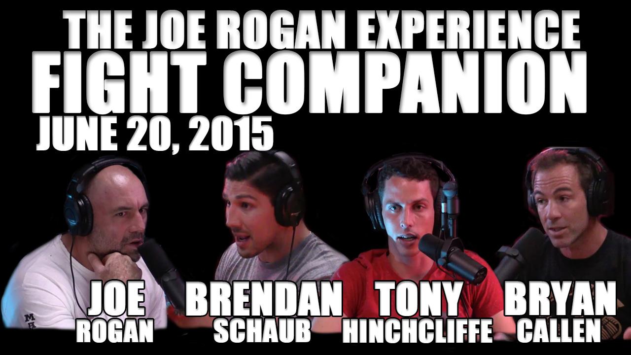 The Joe Rogan Experience Fight Companion - June 20, 2015