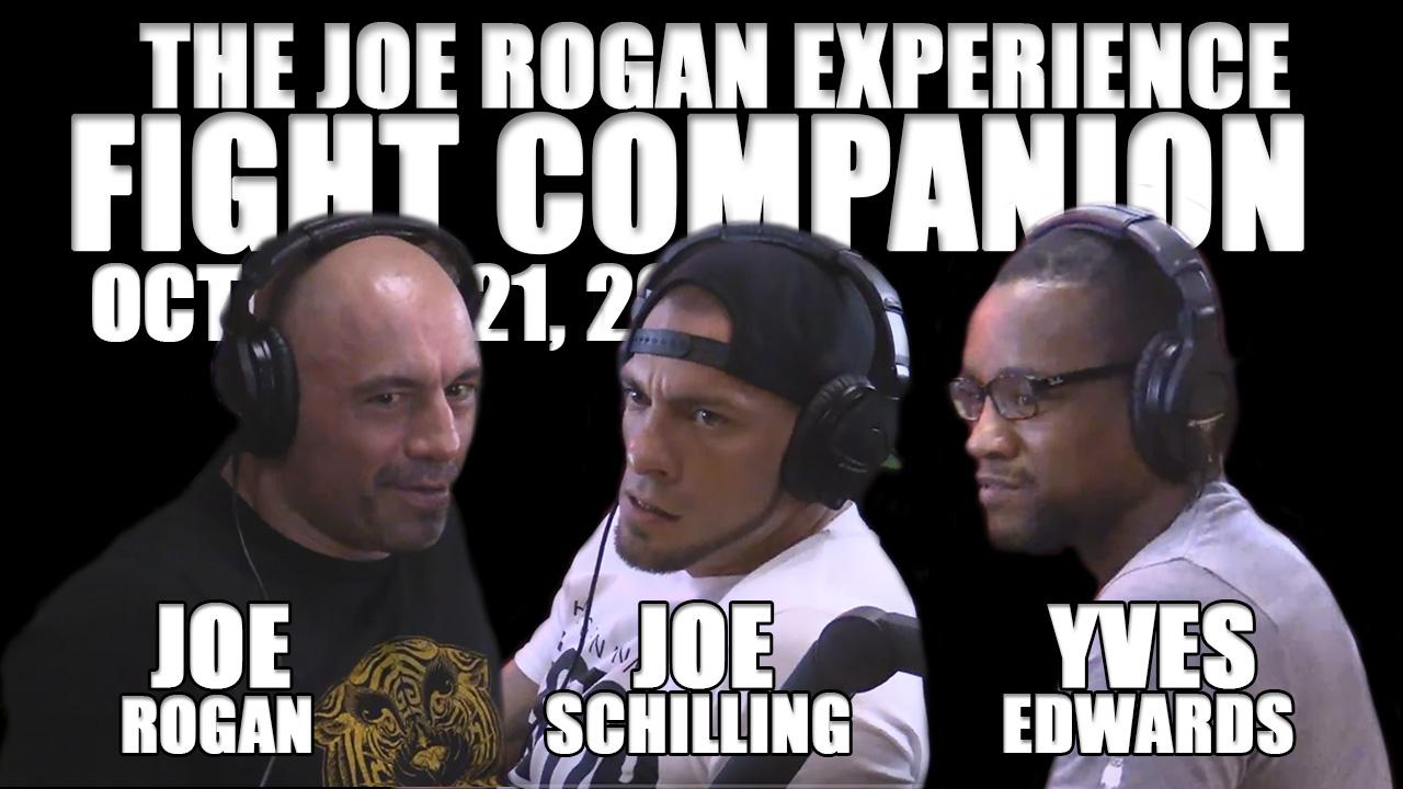 The Joe Rogan Experience Fight Companion - October 21, 2016