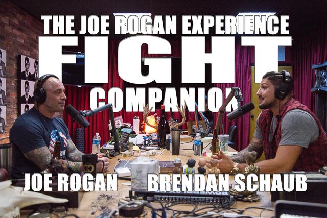 The Joe Rogan Experience Fight Companion - September 2, 2017