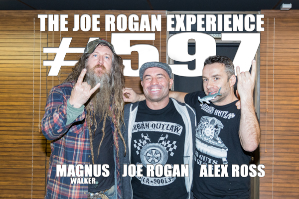 The Joe Rogan Experience #597 - Magnus Walker & Alex Ross