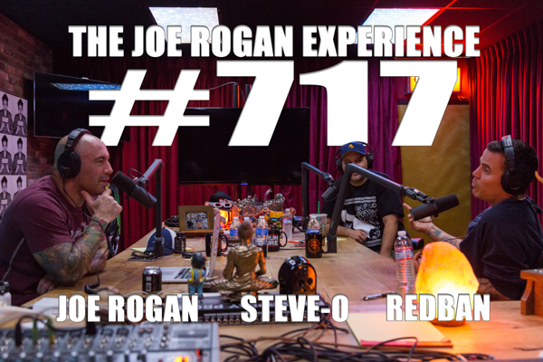 The Joe Rogan Experience #717 - Steve-O