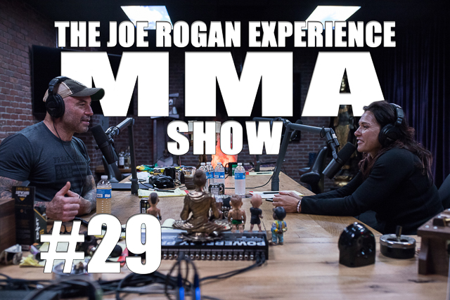 The Joe Rogan Experience JRE MMA Show #29 with Cat Zingano