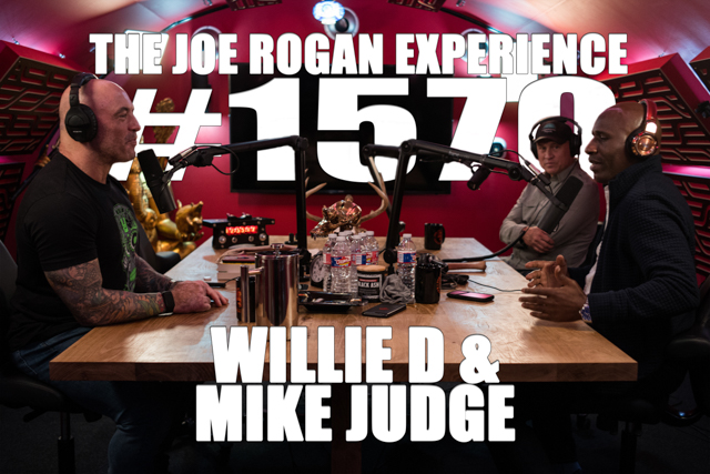 #1570 – Willie D & Mike Judge