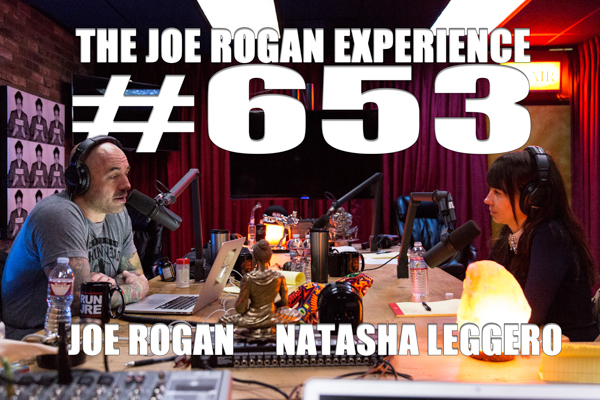 The Joe Rogan Experience #653 - Natasha Leggero